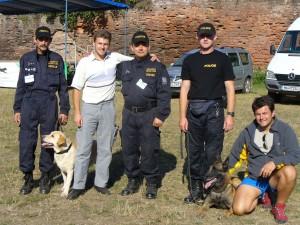 Alex,Emil si Politia de frontiera ceha la Frontex
